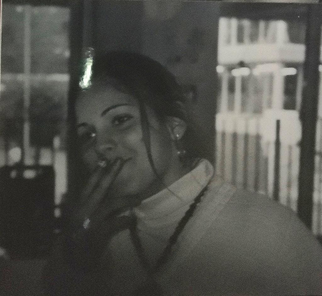 Betty, au foyer des lycéens, lycée François Magendie, Bordeaux, 2002.
